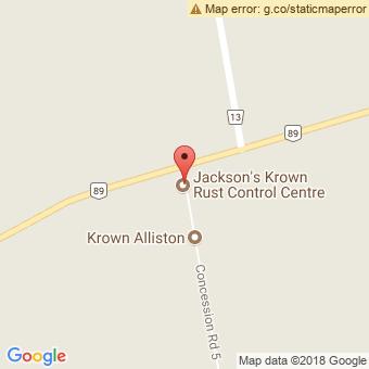 Map Location of  Jackson