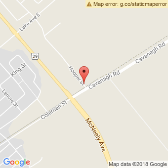 Map Location of  C.P. Tire