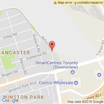 Map Location of  Krown Toronto