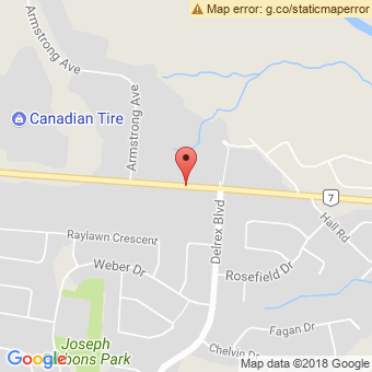 Map Location of  Georgetown Quik Lube & Krown