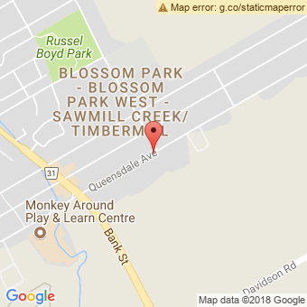Map Location of  Krown Ottawa South