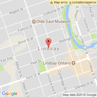 Map Location of  Krown Lindsay
