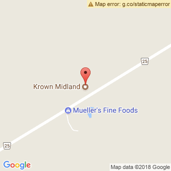 Map Location of  Krown Midland