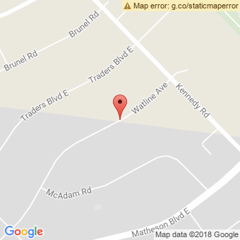 Map Location of  Krown Mississauga