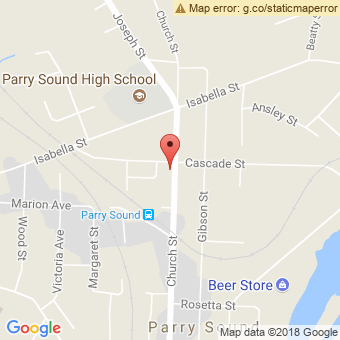 Map Location of  Krown Parry Sound