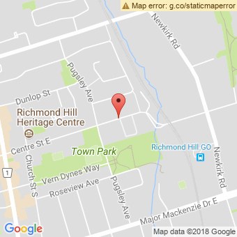 Map Location of  Krown Richmond Hill