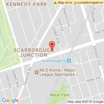 Map Location of  Krown Scarborough St. Clair