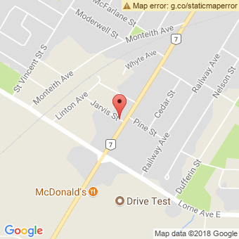 Map Location of  Krown Stratford & Varga Car Cleaning