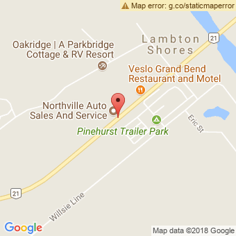 Map Location of  Northville Auto Sales And Service