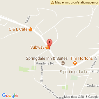 Map Location of  Springdale Garage Ltd.
