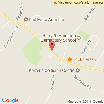 Map Location of  Chris Scott Automotive