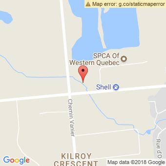 Map Location of  Krown Aylmer