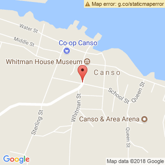 Map Location of  Canso Garage