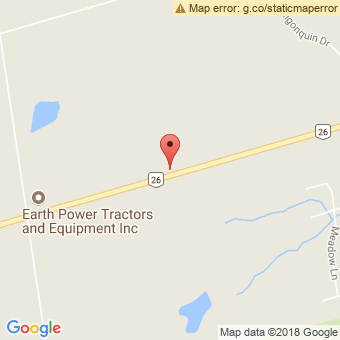 Map Location of  Krown Meaford, Grey County Auto & Marine