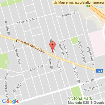 Map Location of  Westmount Service Center