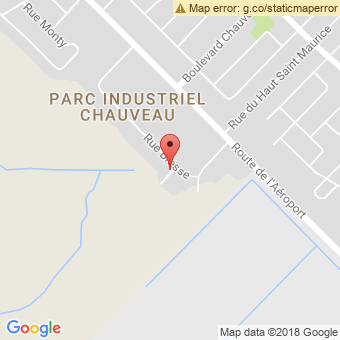 Map Location of  Krown Quebec Ouest