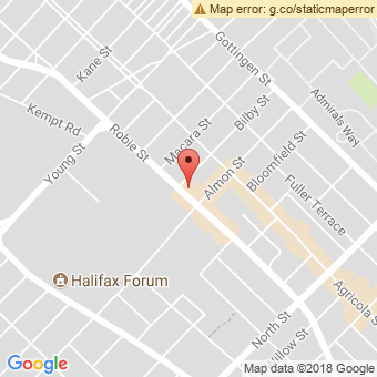 Map Location of  Krown Halifax